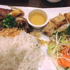 Banh Hoi Thit Nuong Cha Gio